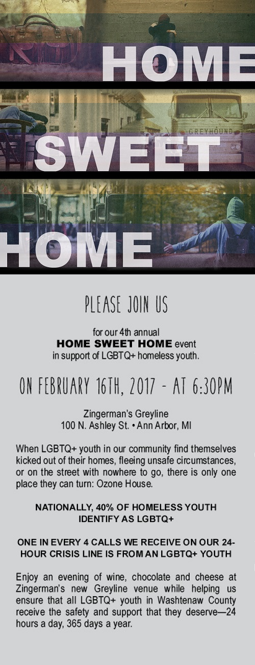 Please Join Us At Home Sweet Home
